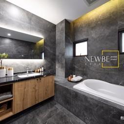 现代简约别墅豪宅卫生间设计图片