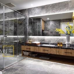 现代简约别墅豪宅卫生间设计图