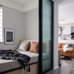 现代简约次卧室设计