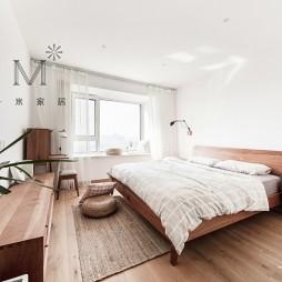 130㎡自然现代卧室实景图