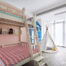 自然简约风儿童房设计图