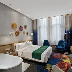 南香楼艺术酒店客房设计图