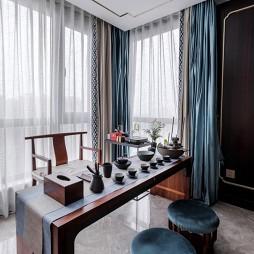 新中式茶室设计图