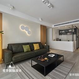 现代简约客厅背景设计图