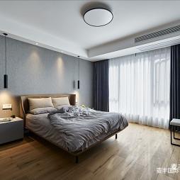 现代简约卧室吊灯图
