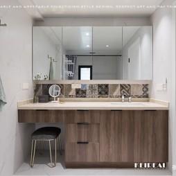 现代简约洗手台设计图