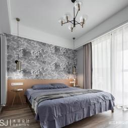 明朗现代简约风卧室设计