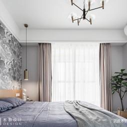 明朗现代简约风卧室吊灯设计