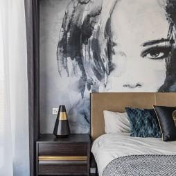 浪漫轻奢卧室床头柜设计
