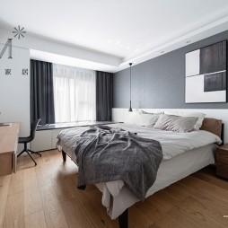 140㎡现代简约风卧室设计图