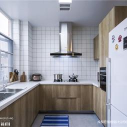 北欧极简厨房设计