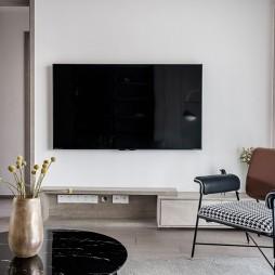 现代简约风电视背景墙设计