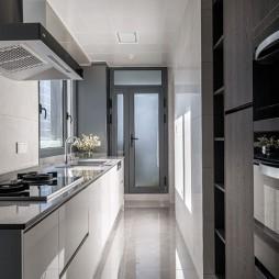 现代简约风厨房图片
