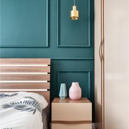 简单北欧卧室吊灯图片