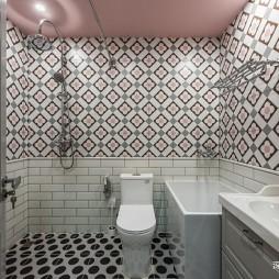 【深白新作】美式卫生间设计图