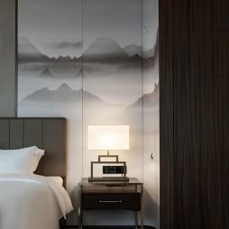 松泰酒店客房屏风设计图