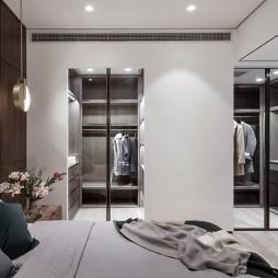 现代风卧室实景图片