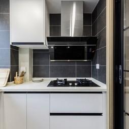 现代轻奢厨房橱柜设计
