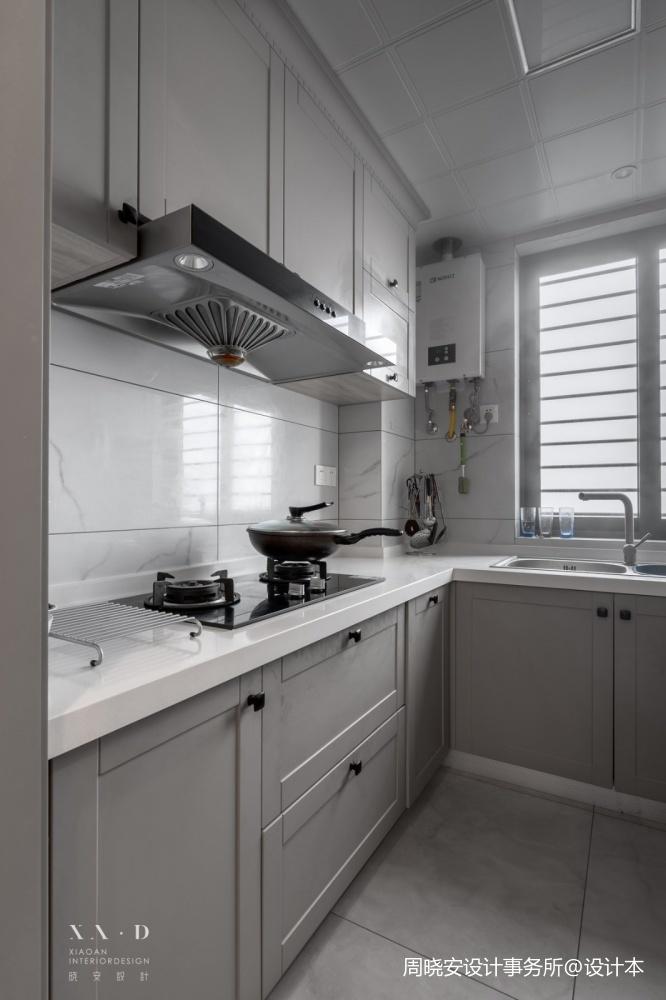 新美式风厨房橱柜设计