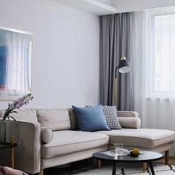 北欧极简客厅图片