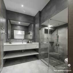 现代时尚风卫浴实景图片