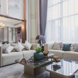 中式豪宅客廳茶幾圖片