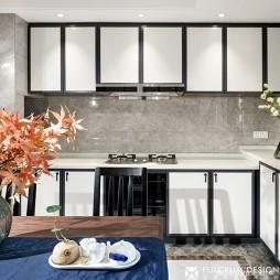 简洁中式风橱柜设计图