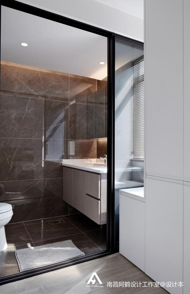 宁静现代风卫浴设计