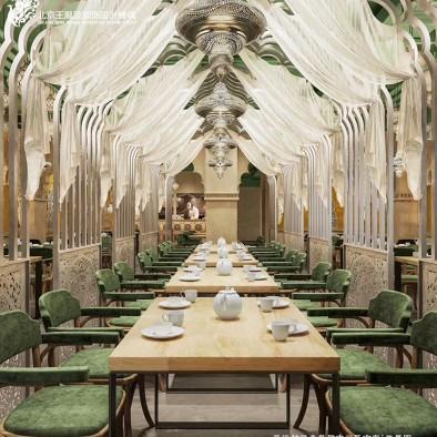 主题餐厅设计,新派西域风情计--疆来_3656964