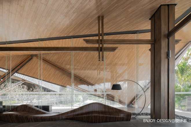 万科西双版纳文化展厅:艺术空间,情致
