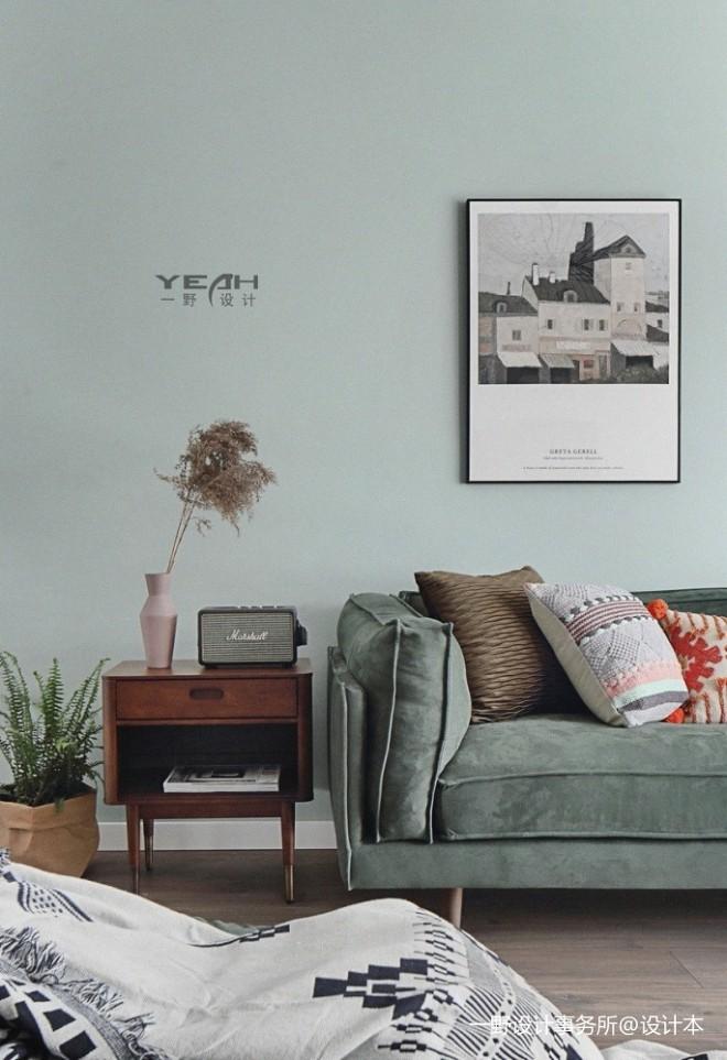 一野设计—正荣悦岚山|83m²北欧复