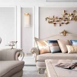 优雅欧式客厅美图