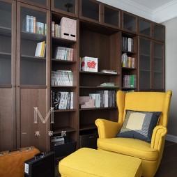 现代美式书房
