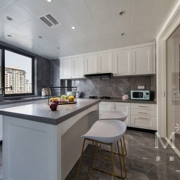 现代美式开放式厨房