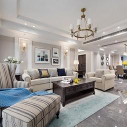 现代美式客厅美图
