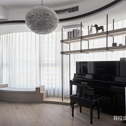 高级现代风音乐房