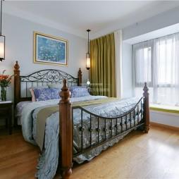 现代混搭卧室图片