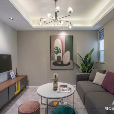 旧房改造:客厅图片