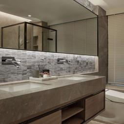 私宅新作卫生间装修效果图