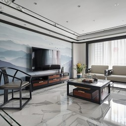 新中式客厅美图