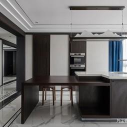 新中式廚房美圖