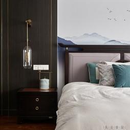 新中式卧室美图