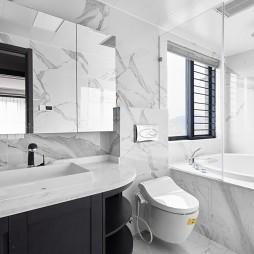 新中式卫生间图片