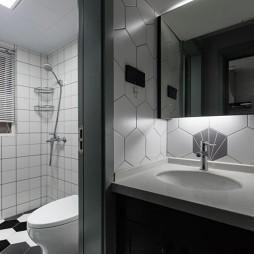 北欧极简:卫生间