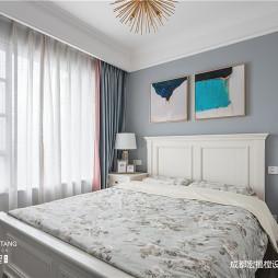 美式经典:卧室效果图