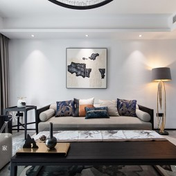 新中式—客厅图片