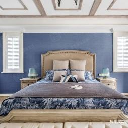乡村美式装修—卧室图片