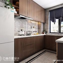 中式现代厨房装修效果大全