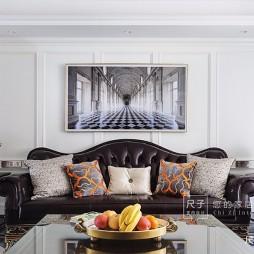 美式经典—背景墙图片