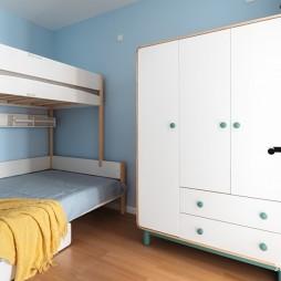 50平现代简约—上下床图片